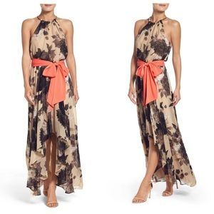 Beautiful Eliza j floral halter dress